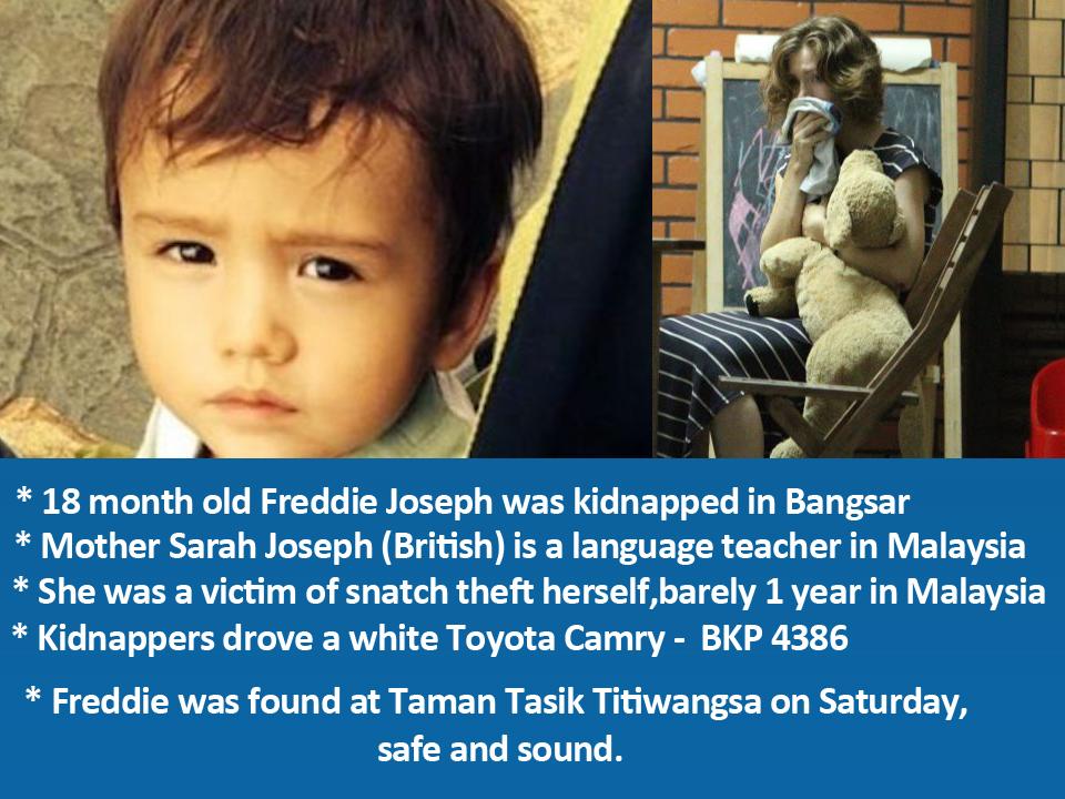 Baby Freddie FOUND at Taman Tasik Titiwangsa!