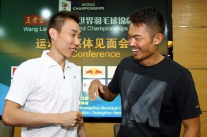 Chong Wei and Lin Dan