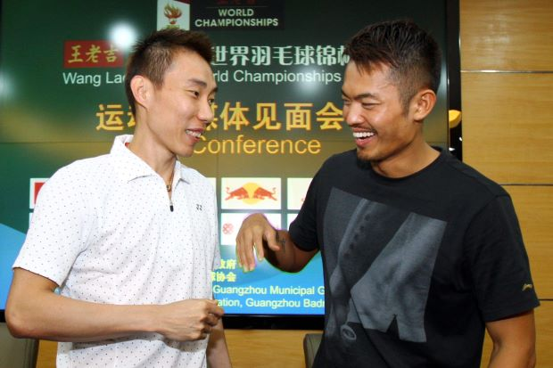 Chong Wei and Lin Dan to play Doubles Together!