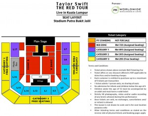 TAYLOR SWIFT_RED TOUR Seat Layout_Putra