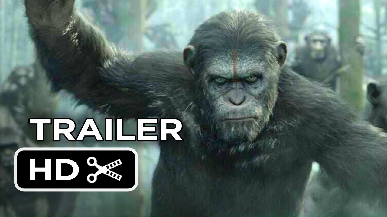 Dawn Of The Planet Of The Apes Official Trailer #2