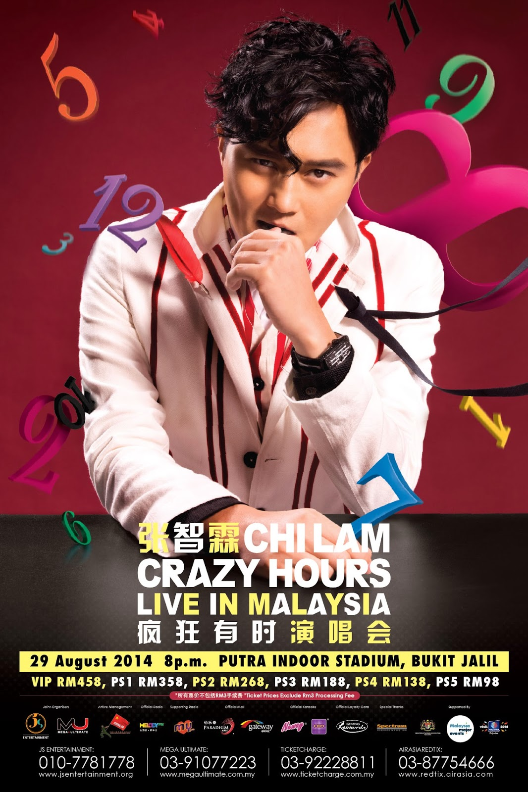 Chi Lam Crazy Hours Live In Malaysia 2014