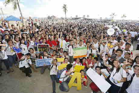 A Peace Walk held in Zamboanga