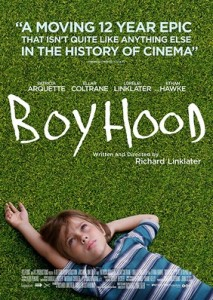 Boyhood nominated for Academy Awards Best Picture this year.
