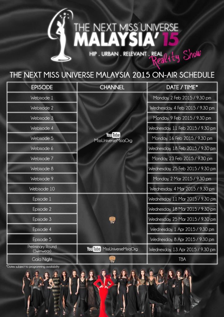 TNMUM15-RealityShow-Schedule