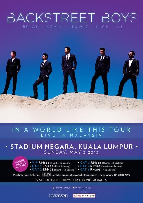 Backstreet's Back In Malaysia