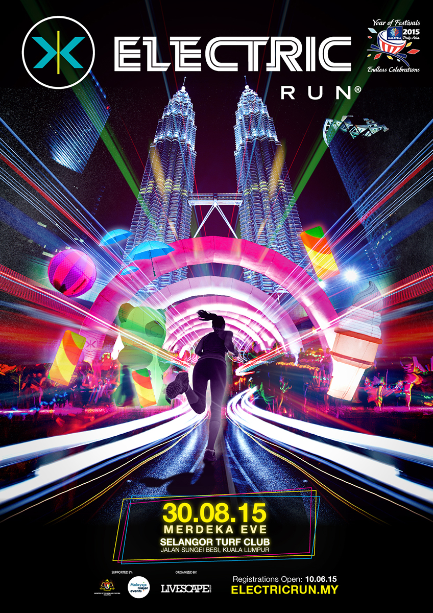 ELECTRIC RUN™ Malaysia – 30th August 2015