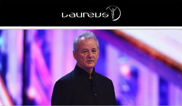 Hollywood Star Bill Murray to Host Laureus Awards