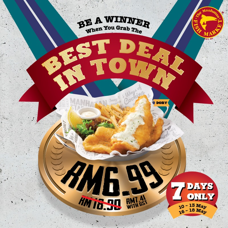 The Manhattan FISH MARKET's Best Deal in Town is Back!